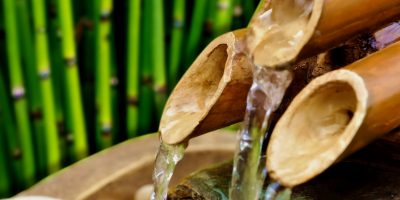 contoh cara membuat kerajinan dari bambu