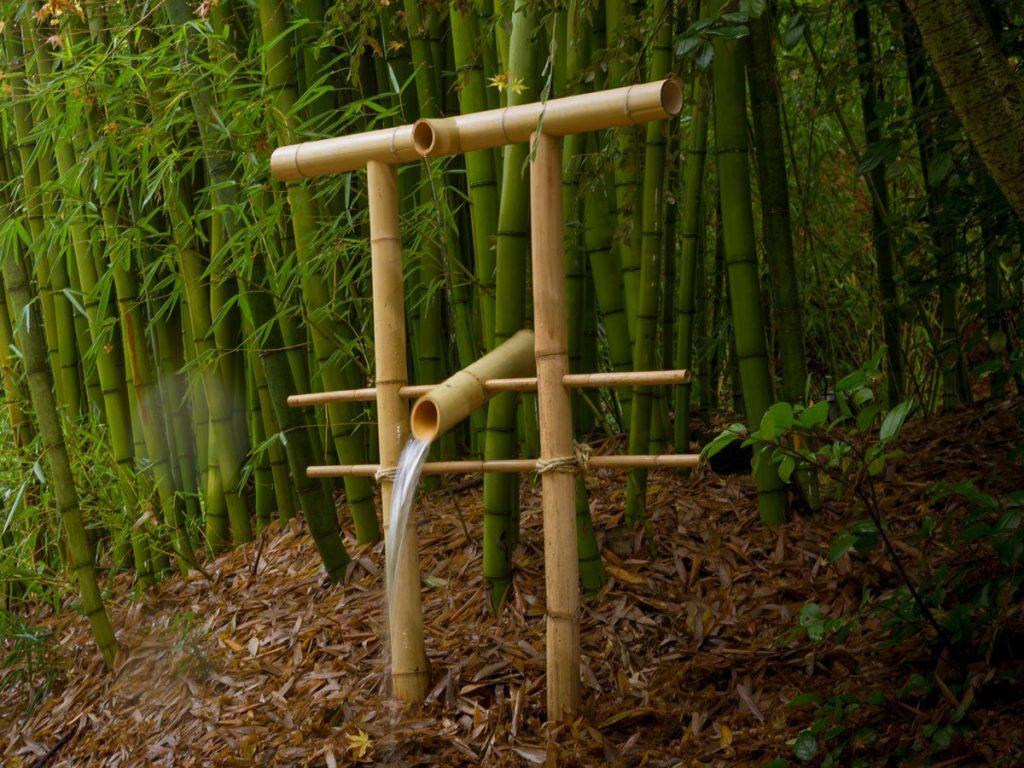 contoh cara membuat kerajinan dari bambu 2