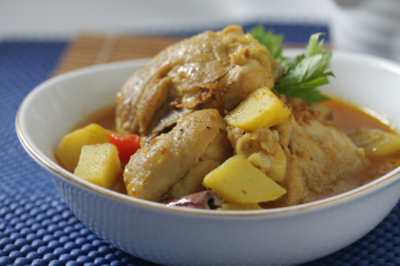 resep kari ayam kentang