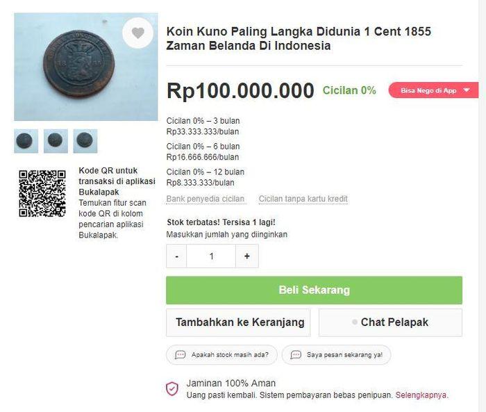 barang termahal di di indonesia