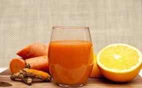 jus jahe wortel lemon