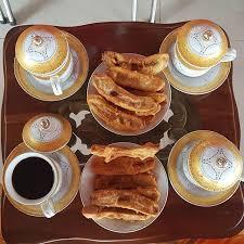 pisang sukun dan wedang jahe kopi
